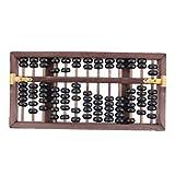 MagiDeal 13 Reihen Chinesischer Abakus, Rechentafel, Rechenbrett mit Kasten, Größe 27 x 15 x 5 cm
