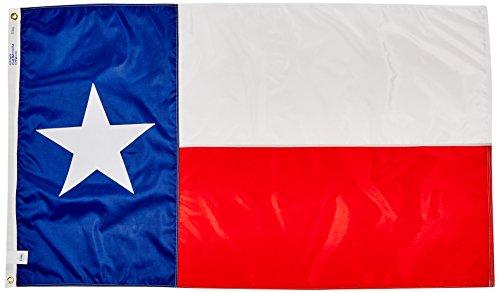 Texas Flagge von USA Flagge CO. 100% American Made: Die besten 3x 5Texas State Flagge Made in den Vereinigten Staaten von Amerika (3von 5Fuß) -