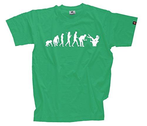 T-Shirt Kelly XXXL Gynäkologe Frauenarzt Gynäkologie Arzt für untenrum Evolution