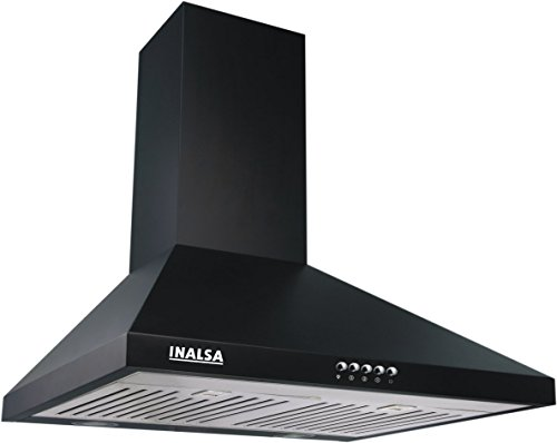 Inalsa Brio 60bkbf 60 Cm Cooker Hood Chimney (black)