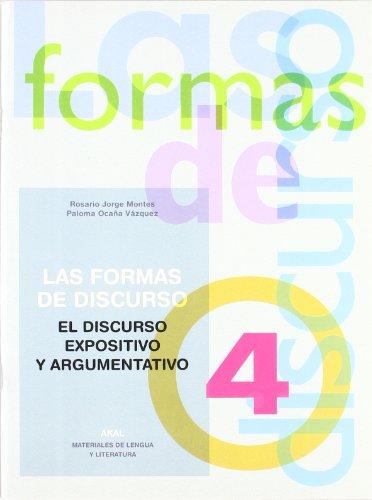 Las formas del discurso 4 (Materiales de lengua y literatura)