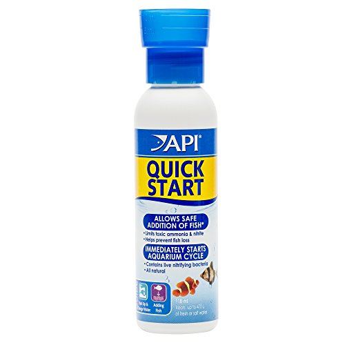 API Quick Start Aquarium Freshwater and Saltwater Nitrifying Bacteria Conditioner