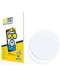 2x BROTECT Matte Protector Pantalla para Relojes (circular, Diámetro: 49mm) Protector Mate, Película Antireflejos