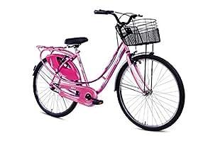 "BSA Ladybird Splash Bike, 26"" (Barbie Pink)"