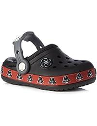 Crocs - Sandalias de vestir de Material Sintético para niño negro negro