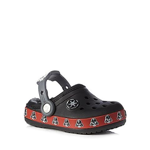 Crocs , Jungen Sandalen schwarz schwarz, schwarz - schwarz - Größe: 23 EU-24 EU Jünger