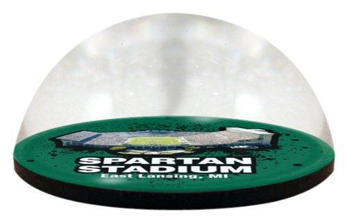 Paragon Bone China (NCAA Michigan State Spartan Stadion, magnetisierter Briefbeschwerer, mit farbigem Fenster, 5 cm)