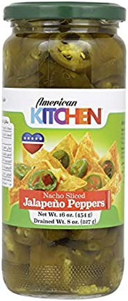 American Kitchen Nacho Sliced Jalapeno Peppers, 454 g