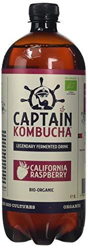 Captain Kombucha Captain Kombucha Bio-Organic California Raspberry Drink 1 Litre(Pack of 6)