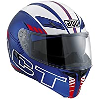 AGV - Casco Compact, Multicolore(Blu), 9 - Agv Sport Moto