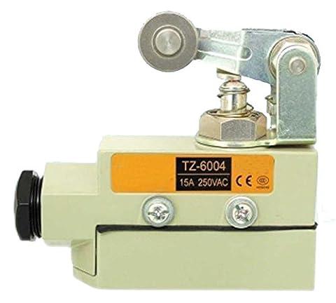 Woljay Heavy Duty Tür Micro Türschalter Rollenstößel Micro Endschalter Rollenstößel SPDT TZ-6004 CE