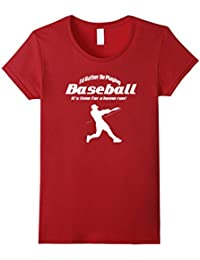I'd Rather Be Playing Baseball T-Shirt Sport Gift Idea