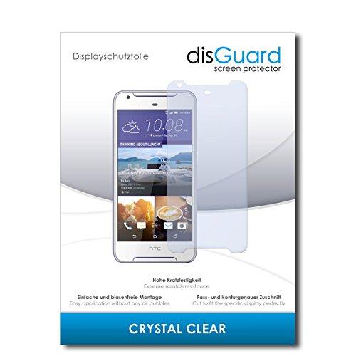 disGuard® Bildschirmschutzfolie [Crystal Clear] kompatibel mit HTC Desire 628 Dual Sim [3 Stück] Kristallklar, Transparent, Unsichtbar, Extrem Kratzfest, Anti-Fingerabdruck - Panzerglas Folie, Schutzfolie