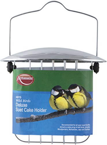 Ambassador Wild Birds Deluxe Suet Cake Holder (329512) 1