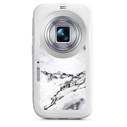 DeinDesign Samsung Galaxy K Zoom Hülle Silikon Case Schutz Cover Stein Marmor Marble Look Muster