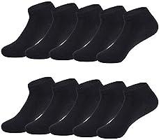 TUUHAW Calcetines de Deporte Low Cut Pro para Hombre Mujer y niño 10 Pares Oeko-Tex estándar 100 Calcetines Cortos...