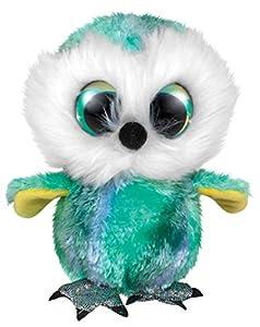 LUMO STARS 55773 Juguete de Peluche - Juguetes de Peluche (Animales de Juguete, Verde, Blanco, Felpa, 3 año(s), Búho, Niño/niña)