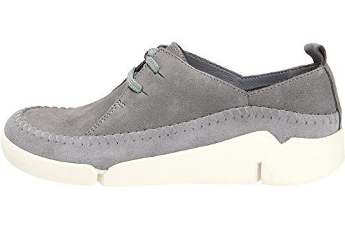 Clarks Tri Angel Damen Low Top Sneakers Grau