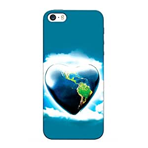 CrazyInk Premium 3D Back Cover for Iphone 5 - Nature Heart