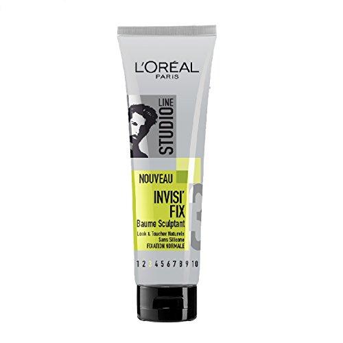 L'OREAL PARIS STUDIO LINE Baume Coiffant Invisi'fix Cheveux et Barbe Tube 150 ml