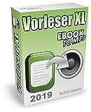 Vorleseprogramm (2019) und TTS-Software zum Text in Sprache umwandeln - Text vorlesen lassen f�r Word, PDF, eBooks, E-Mails, TXT, Internetseiten usw. Auf Wunsch kann die Vorlesesoftware auch Text in MP3 konvertieren Bild