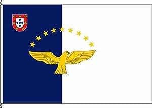 Flagge Fahne Hissflagge Azoren - 60 x 90cm