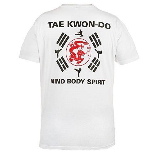 Taekwondo T-shirt. Rule Out Fightwear. Mind Body Spirit Gym. Training. Martial Arts. MMA T-shirt