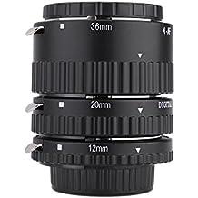 Meike MK de N- AF1de B electrónica Berg Auto Focus Macro Extension Tube Set Anillo para Nikon D7100D7000D5200D5100D5000D3100D3000D800D600D300D300D90D80
