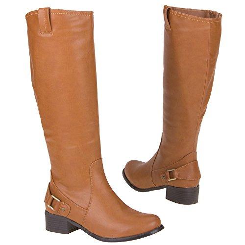 Damen Schuhe, 3VG-1128-DM, STIEFEL Camel