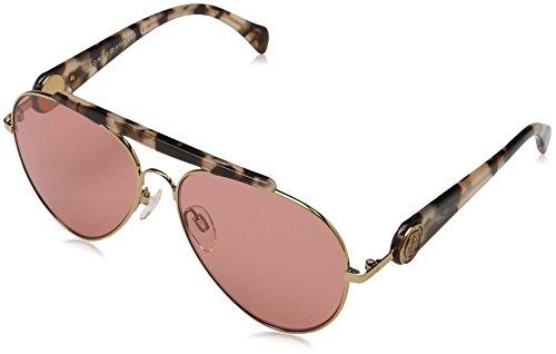 Tommy Hilfiger Unisex-Erwachsene Sonnenbrille TH Gigi U1, Schwarz (Gold Hvnapnk), 58 Preisvergleich