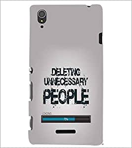 SONY XPERIA T3 QUOTE Designer Back Cover Case By PRINTSWAG