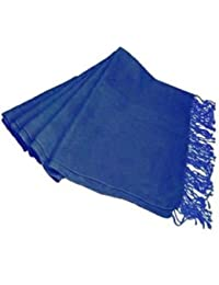 Royal BLUE Pashmina Shawl Scarf