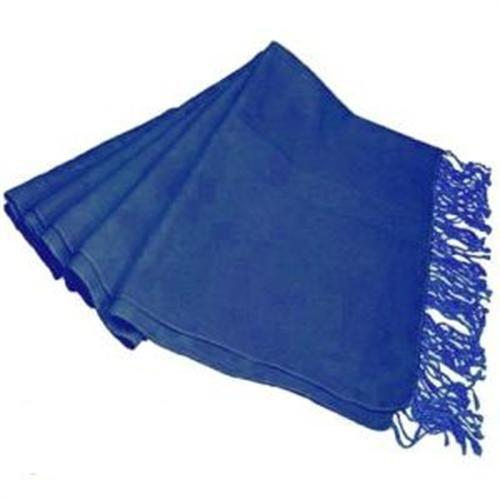 Damen Pashmina-Schal, Royal Blau