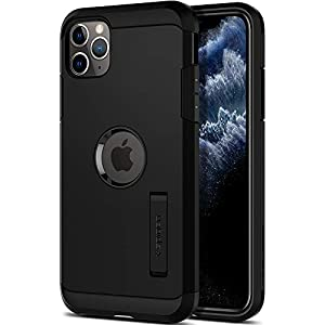 Spigen Tough Armor, Designed for iPhone 11 Pro Max Case (2019) - Black