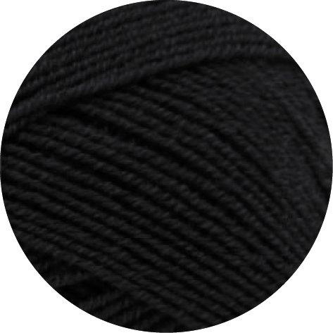 MEILENWEIT Cotton Stretch CLASSIC 8009 - Schwarz -