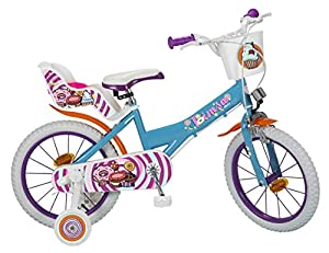 TOIMSA 16220 Sweet Fantasy - Bicicleta de 16 Pulgadas, Multicolor