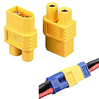 Bluelover Amass XT60-E XT60 Male Plug To EC3 Female Converter Adapter Plug