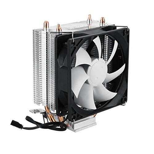 SODIAL CPU Kühler Kühl K?rper mit Led RGB 3Pin CPU Ventilator, der für Inter 775 115 x Am3 Abkühlt -