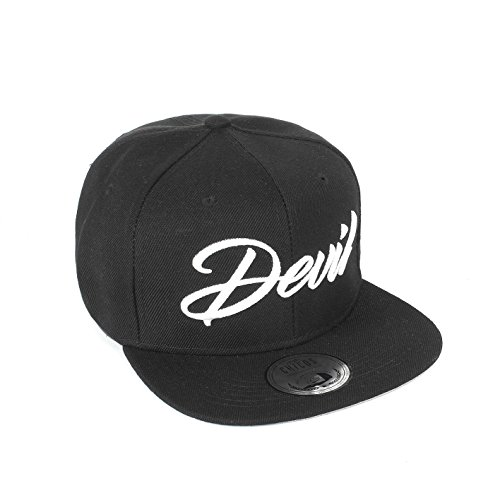 Cap KING Cap QUEEN ANGEL Cappy DEVIL Snapback BEAUTY Damen BEAST Herren Freundschaft Liebe MR. Paar MRS. Trend Partner Cap (One Size, (Einheitliche Ideen)