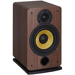 Davis Acoustics Eva Paire d'enceintes étagère 2 voies / 2 haut-parleurs 100 W Noyer
