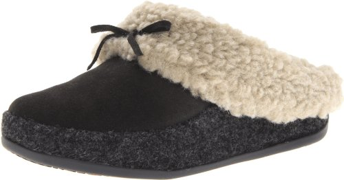 FitFlop The Cuddler, Chaussons femme Gris - anthracite
