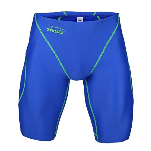 ZAOSU Wettkampf-Schwimmhose Z-Blue - Jammer für Jungen und Herren, Größe:164