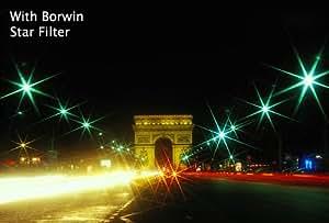 Borwin Digital 52mm Star Filtre Set (3 Filtres - Star 4, 6, 8) Pour appareil photo et l'objectif vidéo