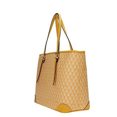 Guess Cube borsa tote 35 cm Yellow Multi