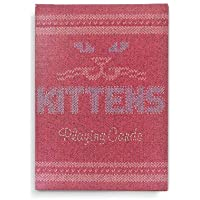 Ellusionist Madison Kittens Poker Size Marked Playing Cards with Gaffs