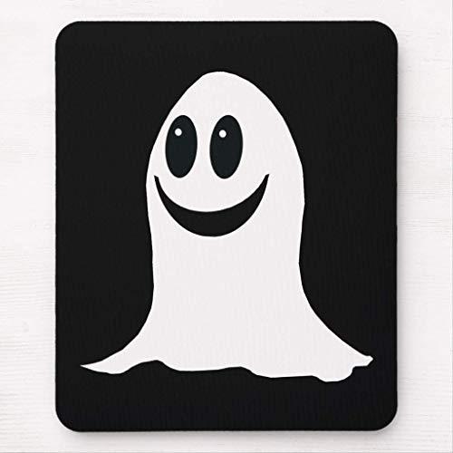 Cute Halloween Cartoon Ghost Mouse Pad (Ghost Halloween Cartoon)