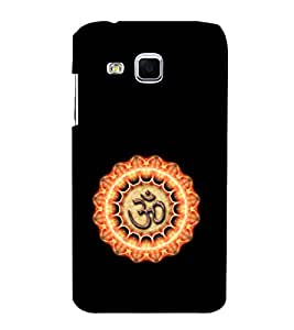 EPICCASE Om symbol Mobile Back Case Cover For Samsung Galaxy J3 (Designer Case)