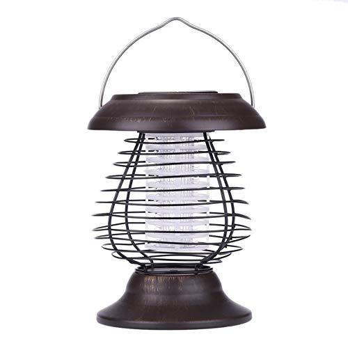 Solarbetriebene elektrische LED Lampe im Freien IP55 Moskito Insekt Zapper Lampe