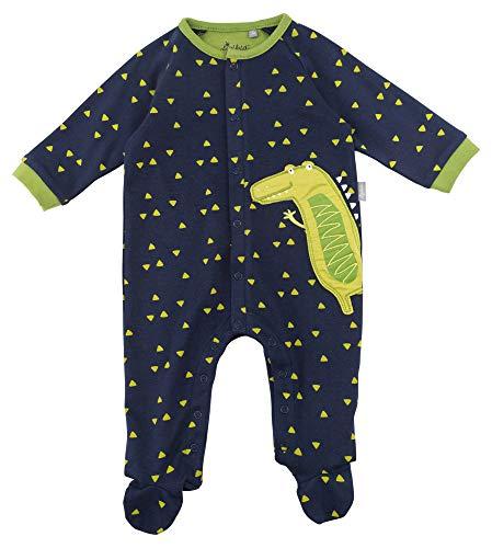Sigikid Sigikid Jungen Strampler Overall, Baby Blau (Black Iris 255), 56