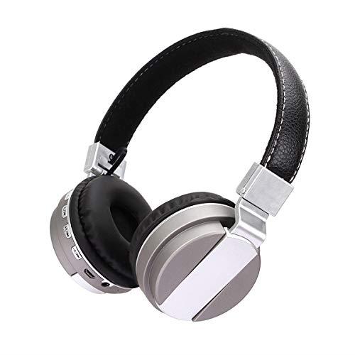 Bluetooth-Headset mit Mikrofon, kabelloses HiFi-Headset mit erweitertem Steckmikrofon, Gaming-Headset, für Laptop, Tablet, Büro - Dual-aluminium-kanal